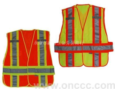 Safety clothing for reflective vest