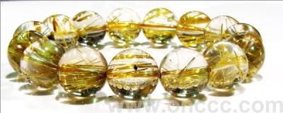 """Natural"" natural Brazil Crystal jewelry-titanium bracelet"