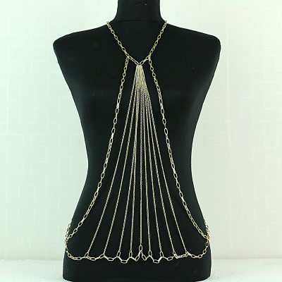 Europe and US Style Jewelry Accessory Punk Fashion Tassel Body Chain Waist Chain Necklace