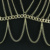 Fashion New Style Body Chain Dress Chest Braces Skirt Accessory