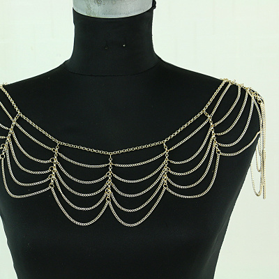 Foreign Trade Tassel Shoulder Chain Body Chain Fashion Jewelry Accessories