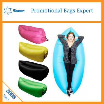 Customize lazy sleeping bag inflatable banana sleeping bag