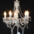 Classic bead chain type chandelier