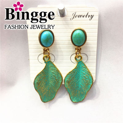 Popular jewelry alloy earrings vintage personality earrings