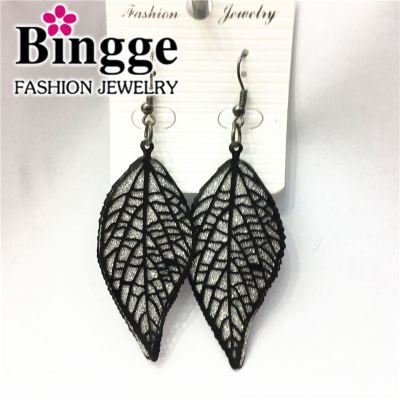 Fashion accessories double layer flash yarn Earrings