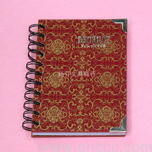 花纹图案笔记本