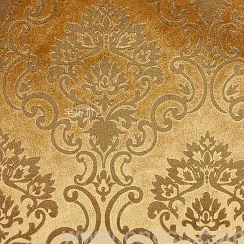 欧式金色布艺贴图