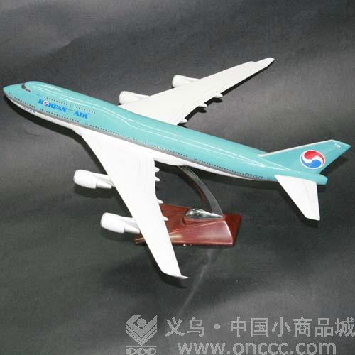 大韩航空飞机模型是仿照大韩航空飞机严格按照比例制作而成的飞机模型