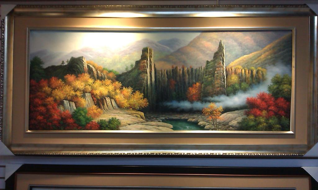 风景油画 客厅沙发墙挂画 书房挂画 玄关挂画 酒店宾馆挂画