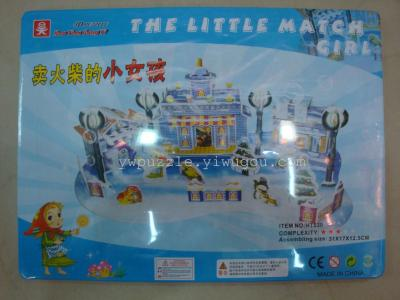 DIY puzzle assembling model toy world landmark building promotion gift