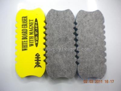 Nonpoisonous and tasteless magnetic EVA chalk brush Eraser