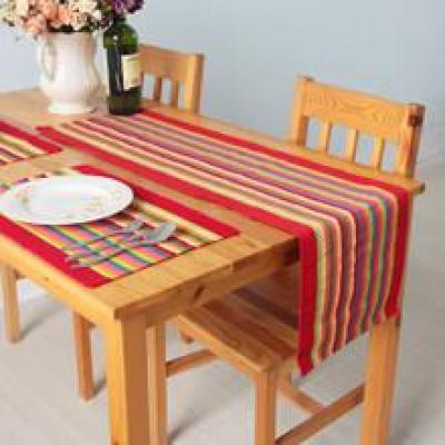 35*200 cotton garden table table runner fabric