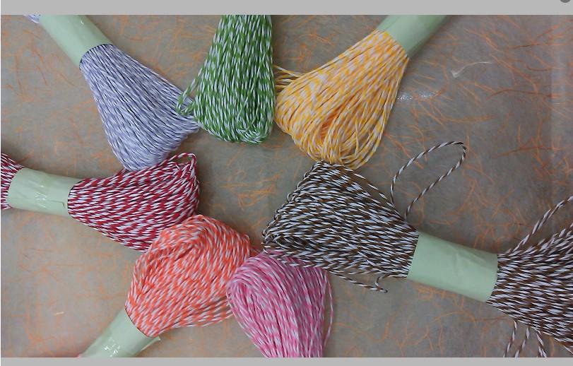 纸绳 双色纸绳 双股细纸绳 diy折纸 手工用品_ 晶麟