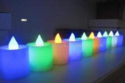 Light Flash flashing LED electronic candle candles coloured candles glow toys