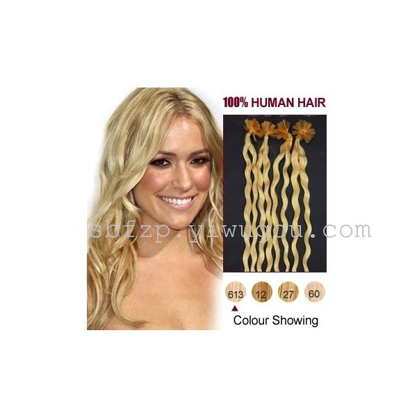 Supply 05gstand U Type 100 Human Hair Extension Pre Bonded Hair