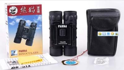 12*25 high definition concert binocular pocket telescope with low light night vision 100