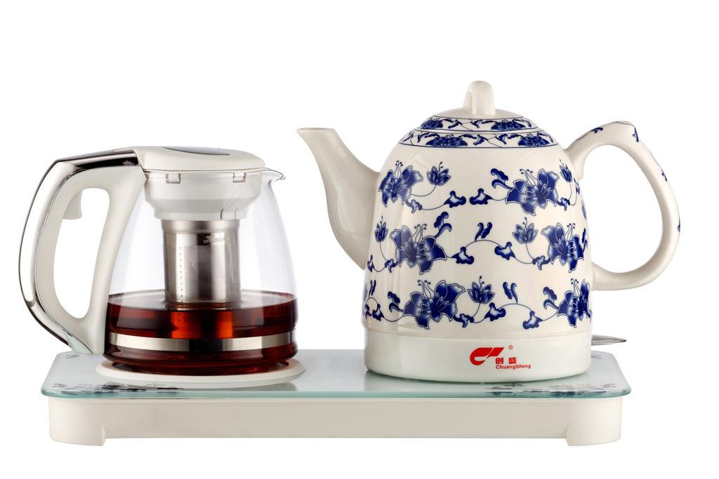 陶瓷电热水壶 套壶