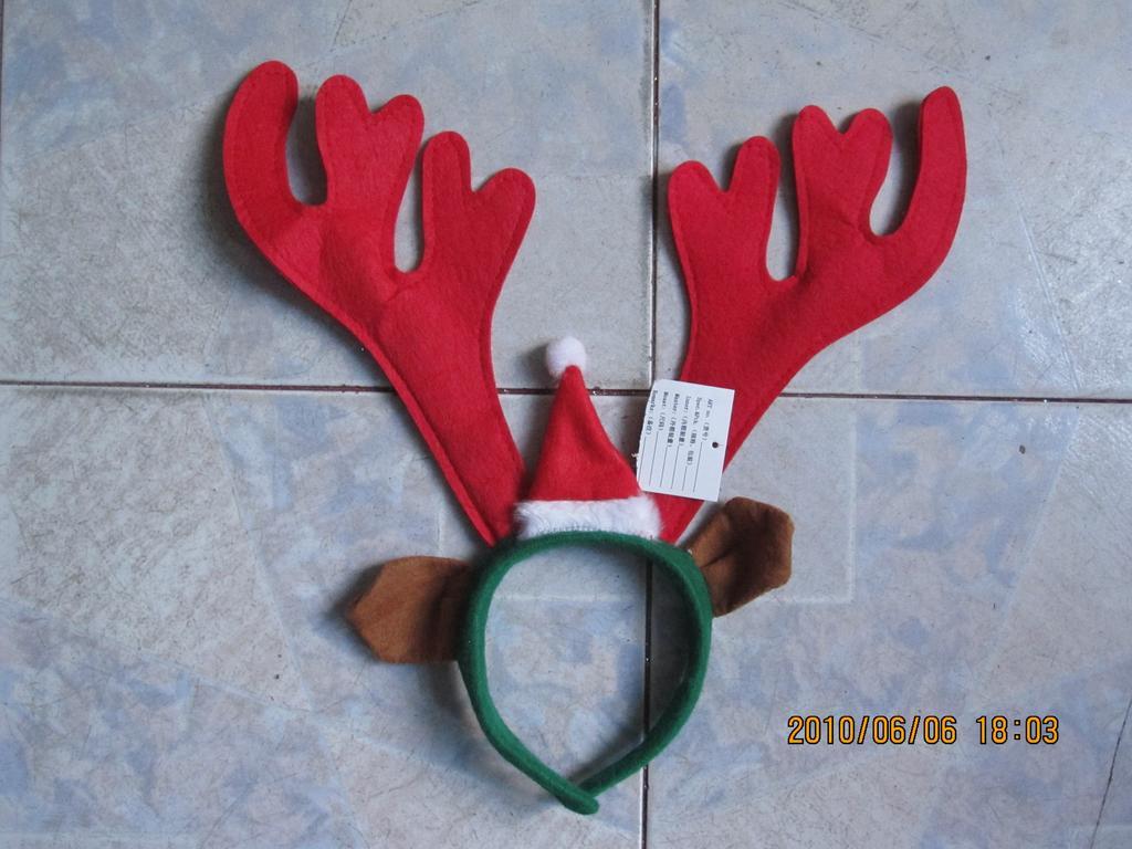 圣诞帽,鹿角_ 华仙工艺品_ 义乌国际商贸城一区_义乌