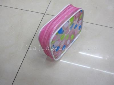 PVC coin purse PVC cosmetic bag pink PVC package