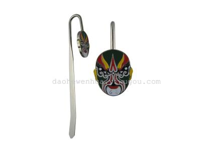 Tourism Arts and crafts Peking Opera mask bookmark China Wind foreign affairs small gift