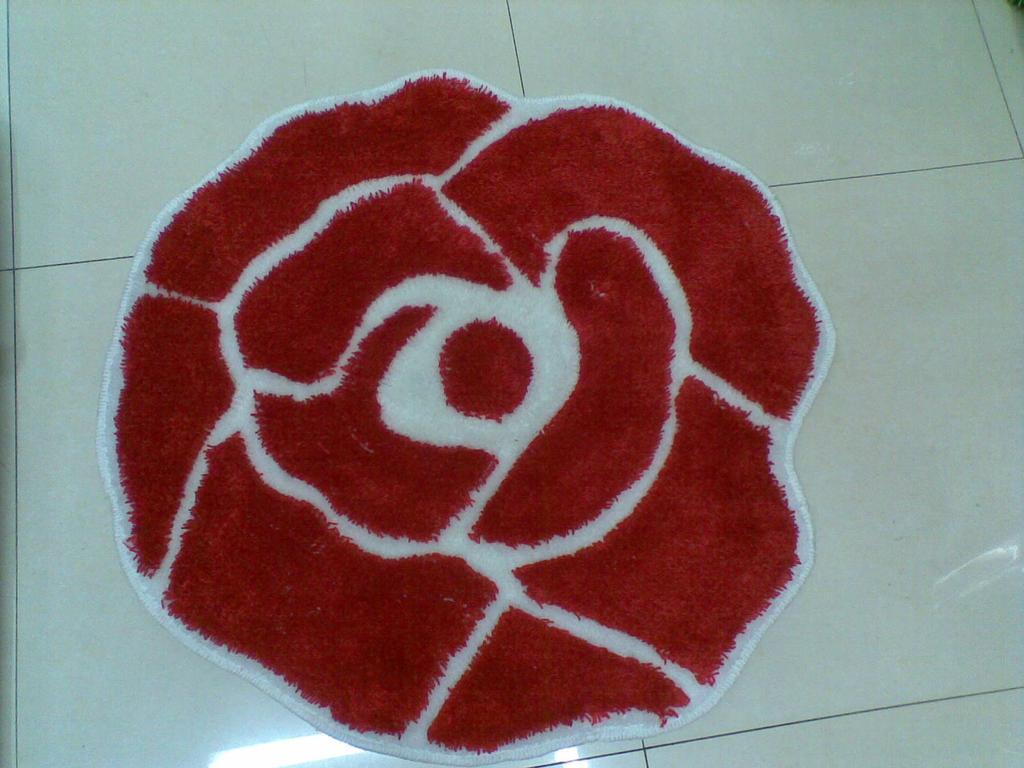 玫瑰花造型电脑椅垫