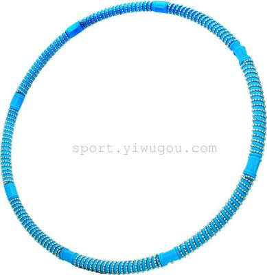 Pleasant goat and Wolf color removable adjustable massage slimming Hula Hoop YY-325