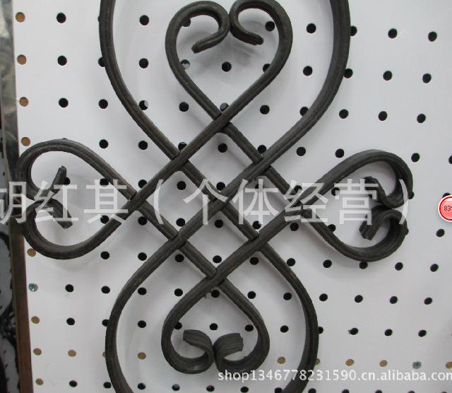 厂家直销 批发供应铁艺家居护栏图案 欧式花纹挂壁工艺 家居装饰