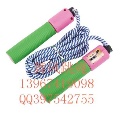 Weight jump rope dance wind bearing tests the standard skip counting jump rope foam handles ad skipping