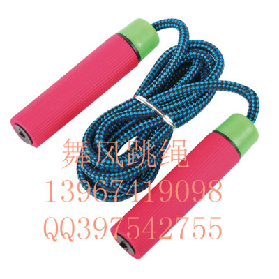 jump rope standard skip counting jump rope sponge advertising gift jump rope fitness lose weight jumping rope