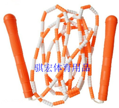 Dancing wind bunchy skipping game Pearl rope tricks students towards the entrance examination standard skip