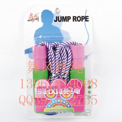 Dancing wind bearing jump rope examination standard plastic handle jump rope