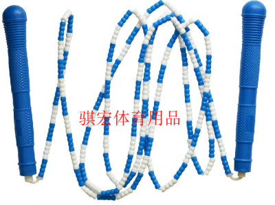 Bai Jie Qi macro rope skipping acrobatic rope skipping children jump rope PVC plastic counting jump rope