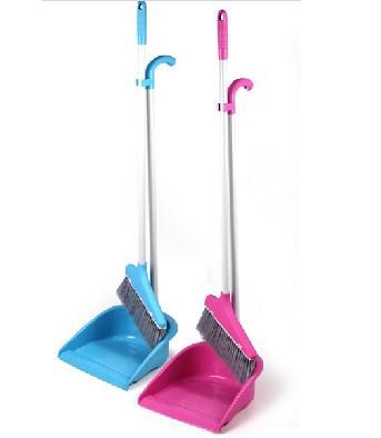 扫把簸箕组合 不锈钢扫帚套装 室内扫把畚箕 扫帚 不伤地板