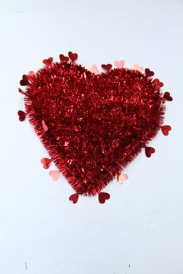 Christmas PET accessories love Valentine wreath