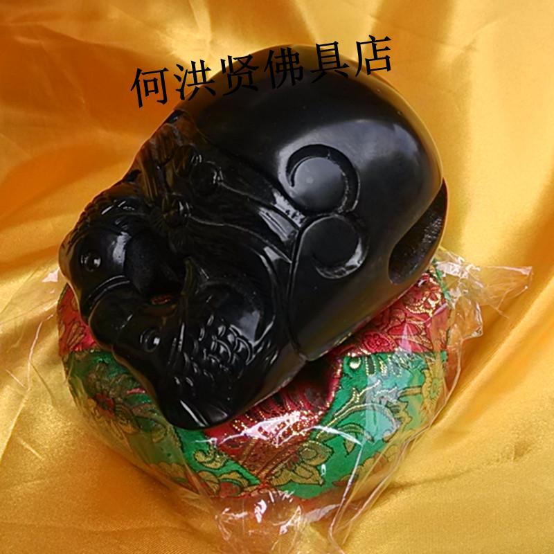 佛教用品法器木鱼 黑檀木鱼 3.5-5寸黑檀小木鱼