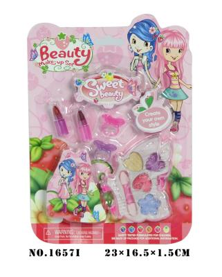 Lovely beautiful Princess children's makeup and bright makeup Kit girl toy play house toys