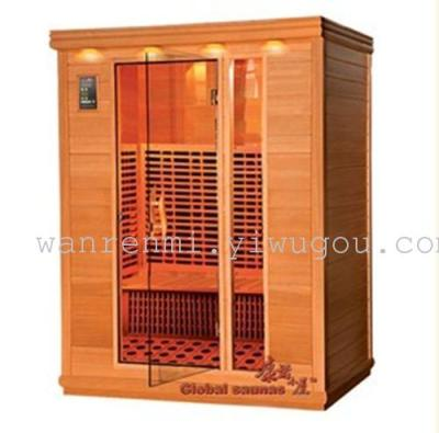 Home sauna, double steaming room, spectrum energy House, multi-function