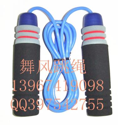 Dancing wind sponges bearing handle skipping adult fitness jump rope examination standard skip