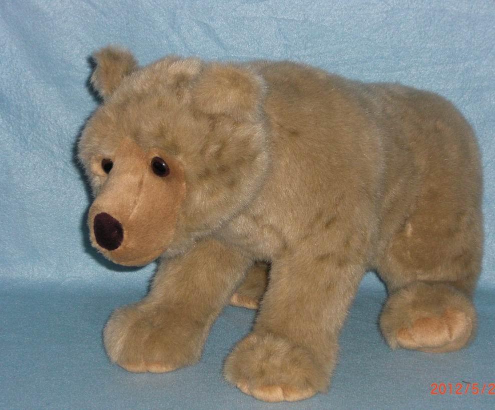 毛绒玩具棕熊 北极熊公仔毛绒玩具 可爱熊熊玩偶宝宝生日礼物