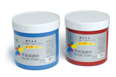 Bamboo brand 500 ml acrylic paints