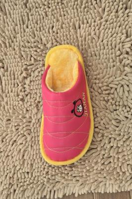 Jia Nan 13-02 warm thick down comfortable with cotton-candy-colored slippers fabric cotton couple cotton slippers wholesale