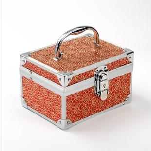 欧式宫廷豪华首饰盒首饰箱 大容量饰品多层化妆箱