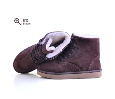 2012 new style tubes in a simple fashion snow boots female Korean warm plush winter discounts Martin boots