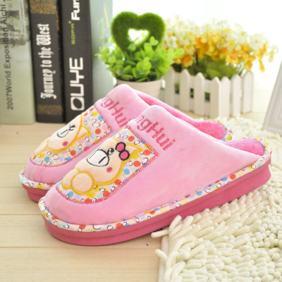 Piggy Lele 2022 cartoon couple cotton slippers wholesale cotton slippers home slippers, cotton manufacturer