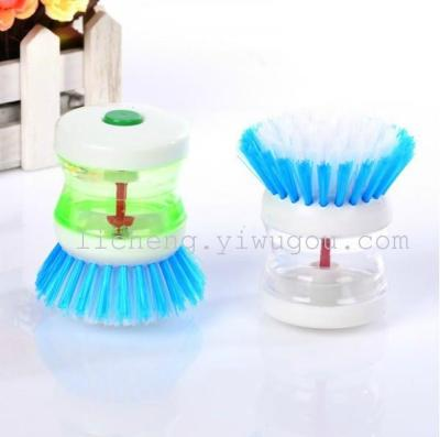 Automatic liquid brush pot/pressure liquid in the kitchen washing the pots and wash Bowl brushes, cleaning brushes
