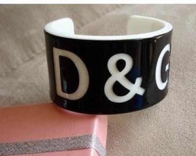 Opening acrylic DG bracelets bangles