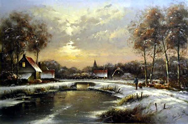 油画 装饰画 欧式画 风景画图片