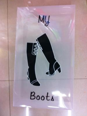 Manufacturer direct selling long supply printed boots box.