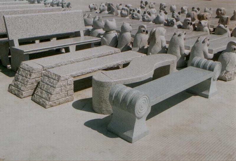 石雕工艺品 石椅 石凳