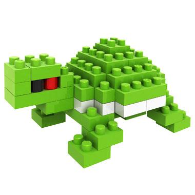 loz俐智钻石积木乐高式玩具迷你动物积木全套11款 反斗城热销